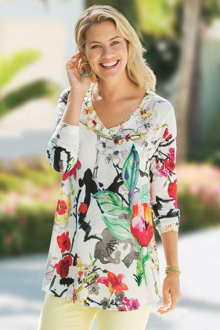 Fiore Floral Top