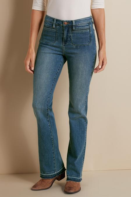 Perfect Patch Pocket Jeans