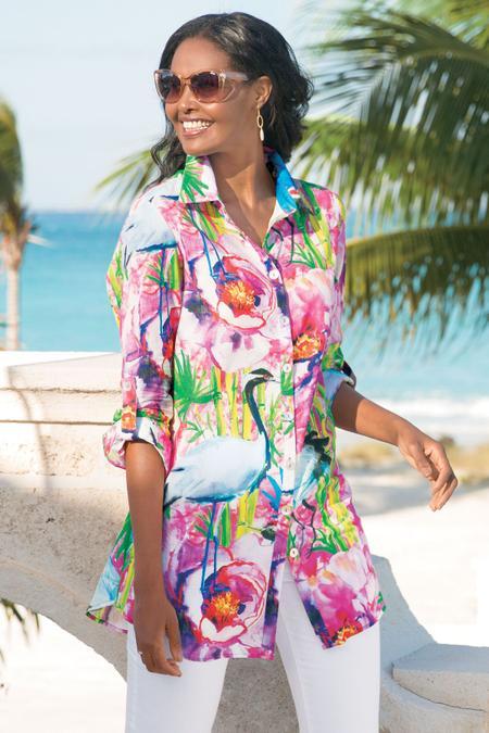 Breezy Bloom Shirt