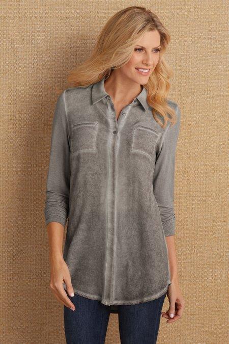 Leila Silk Shirt