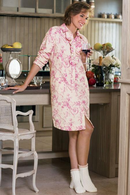 Cherub Flannel Gown