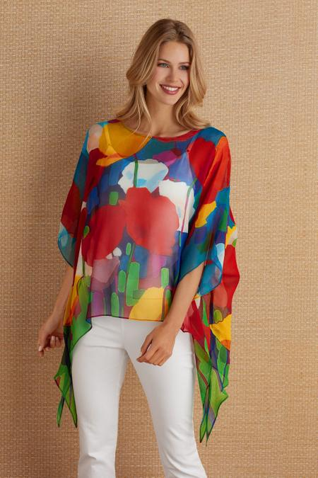 Silk Colours Tunic