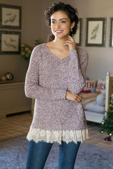 Soft Spoken Sweater