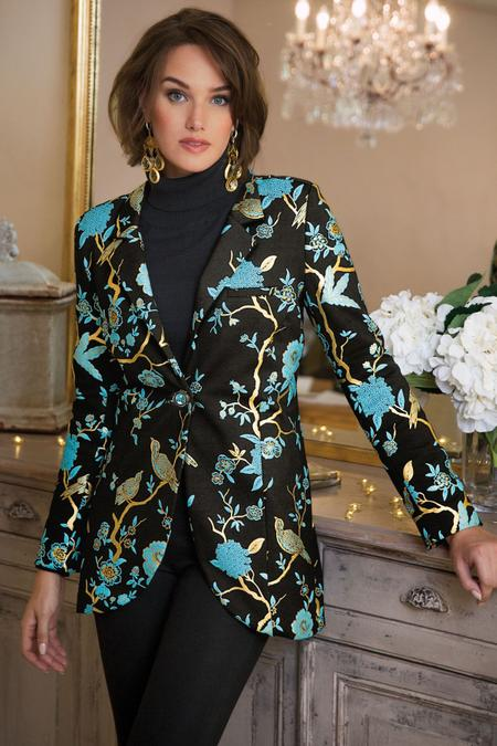 Women Chinoiserie Jacket