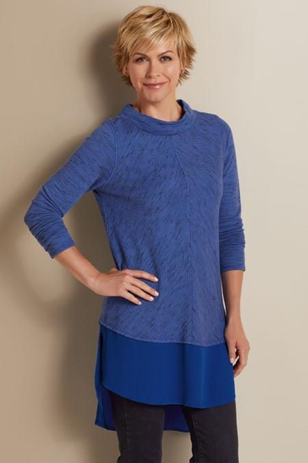 Petites York Tiered Pullover