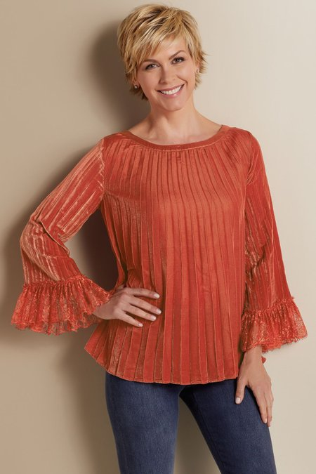 Pippa Pleats Top