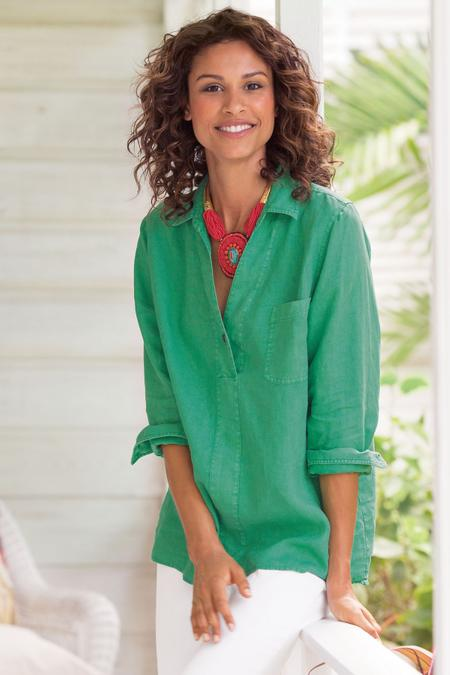 7669100e6 Women Liana Linen Shirt