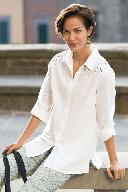 Lorelai Cutwork Shirt