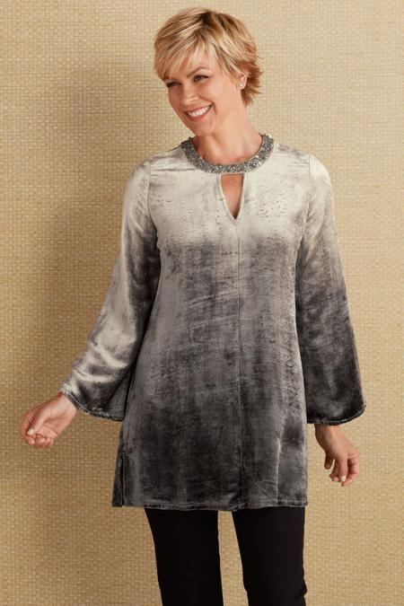 Catarina Velvet Tunic