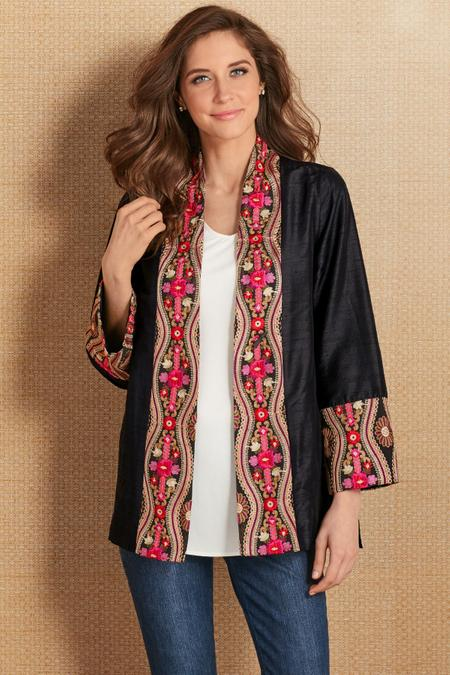 Silk Imperia Jacket