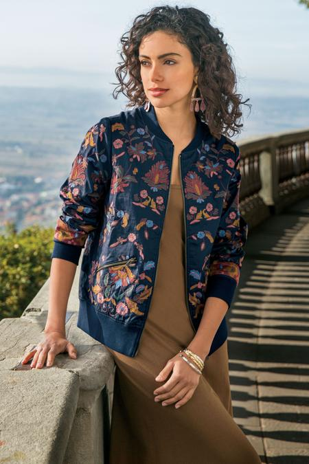Embroidered Bella Jacket