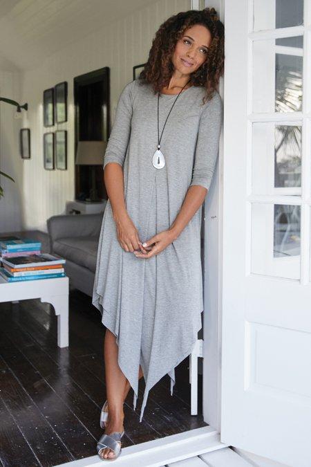 Petites Alexandra 3/4 Sleeve Dress