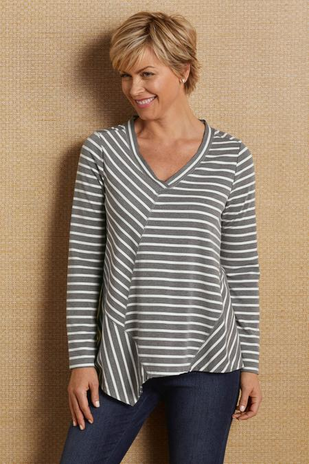 Stripes On Stripes Tunic