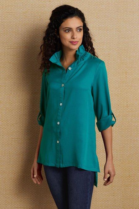 Wire Collar Tencel® Shirt