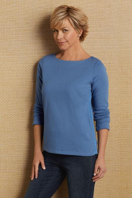 Side Stitch Pullover
