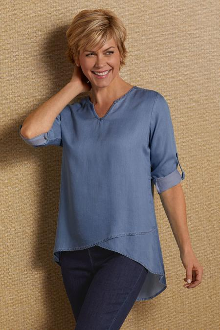 Tencel® Asymmetrical Tunic