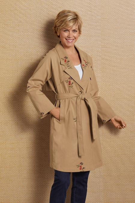 Tallie Trench Coat
