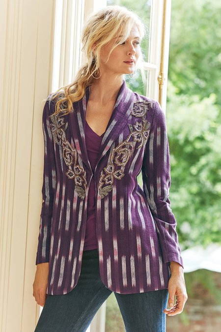Women Topkapi Beaded Jacket