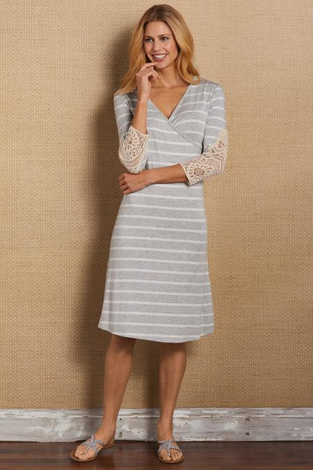 Laci Shapely Surplice Dress