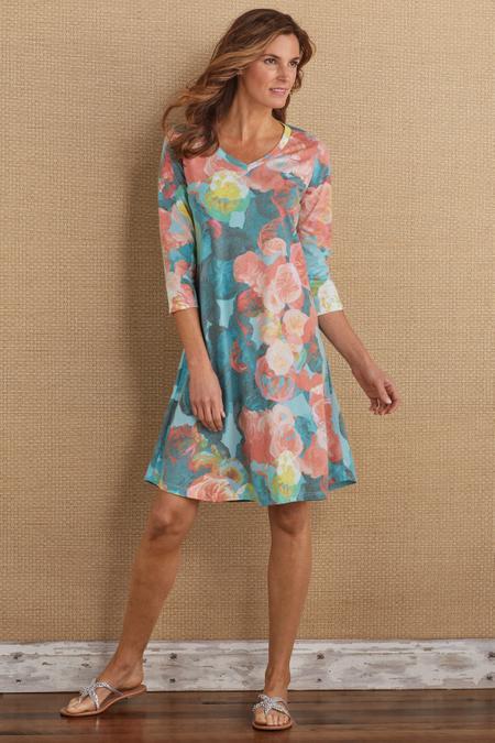 Whimsical Rose Dress