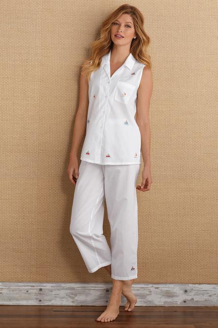 Set Sail Pajamas - Women s Cotton Pajamas  9ea26962d