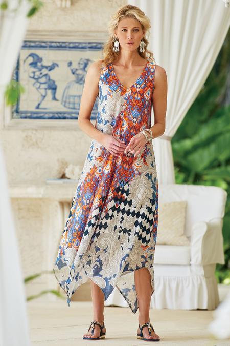 Emiliana Gauze Dress
