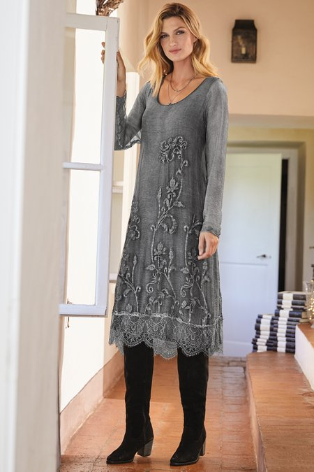 Silk Isadora Dress