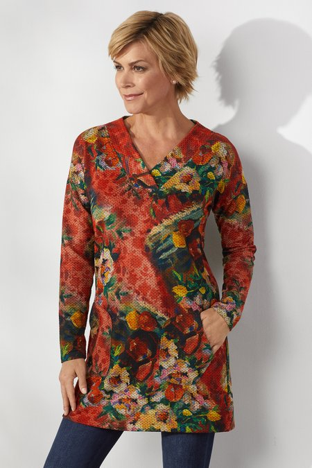 Crimson Valley Tunic