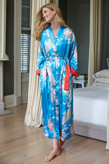 Peacock Radiance Robe