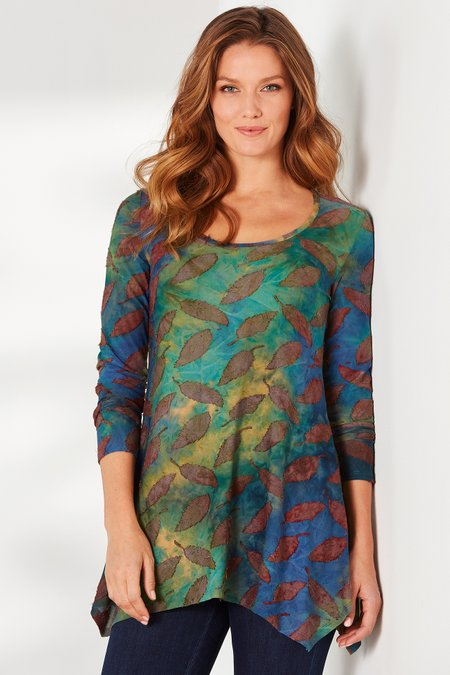 Floating Leaves Tunic