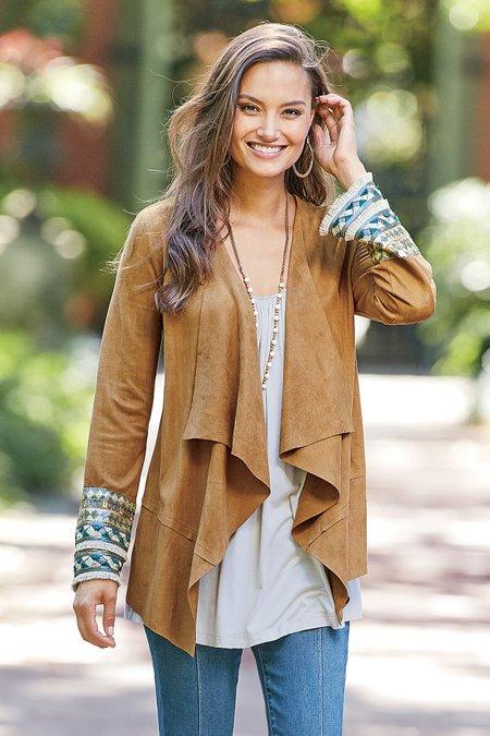 Women Embellished Ultra Soft Cardi