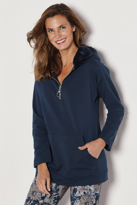 Harriet Hooded Pullover