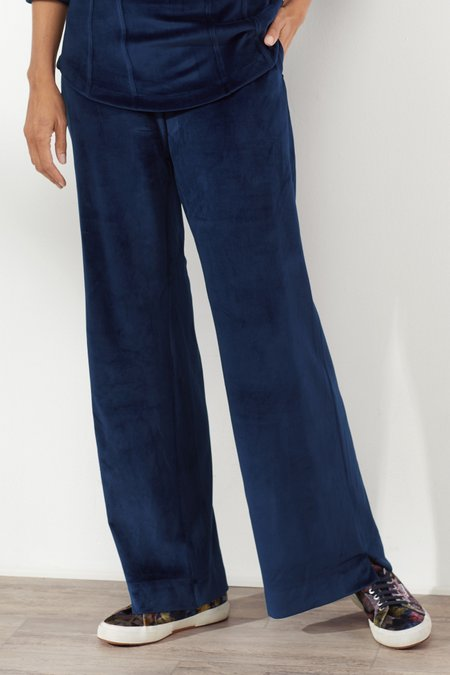 Velour Pull On Pants