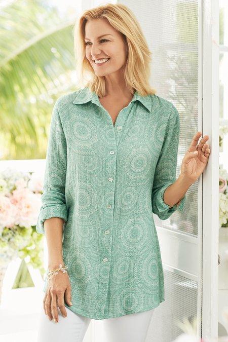 Lara Gauze Shirt