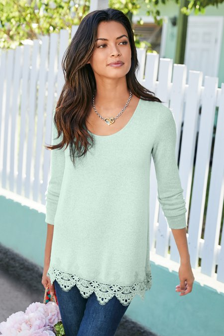 Women Olivia Lace Tunic