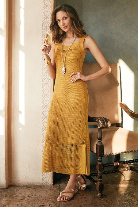 Women Alsace Crochet Dress & Slip