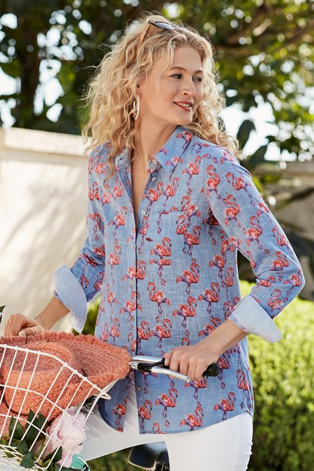 Fabulous Flamingo Shirt