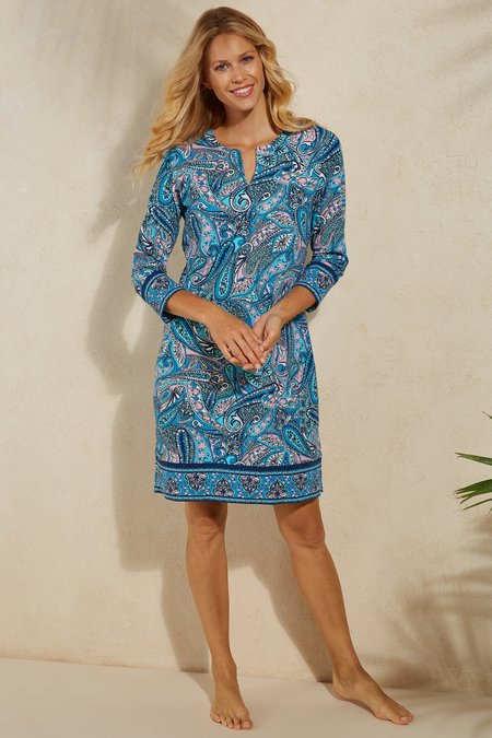 UPF 50+ Oceanside Tunic Dress