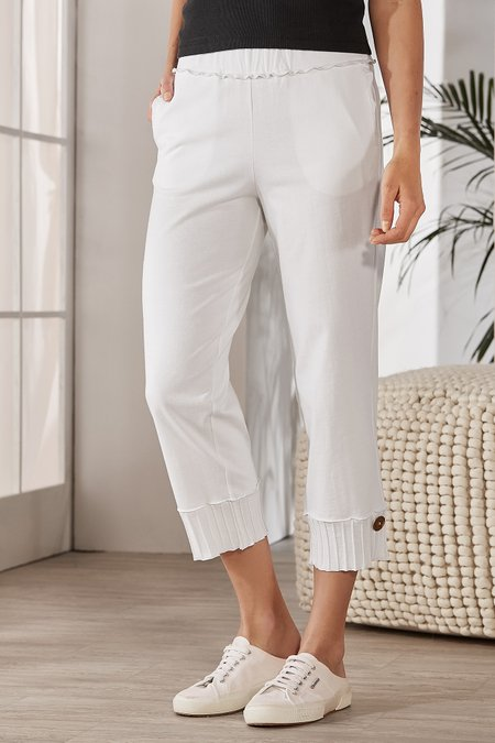 Women Coastal Cropped Pants