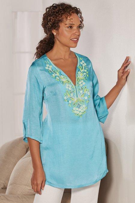 Amadora Embellished Tunic