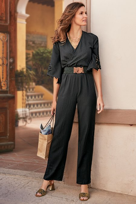 Petites Date Night Jumpsuit