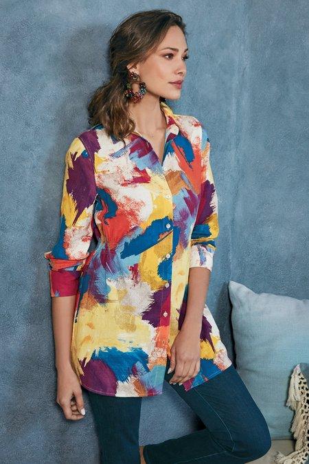 Painter's Palette Gauze Shirt