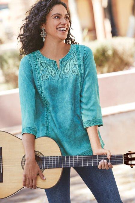 Women Yasmina Tencel® Top