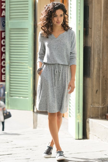 Petites Easy Living Dress