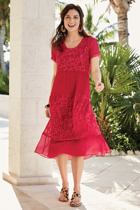 Ariela Silk Dress