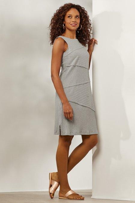 Textured Knit Tank Dress