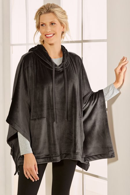 Women Cuddle Time Poncho