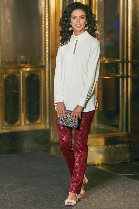 Women Poinsettia Pants