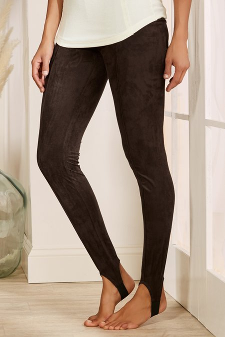 Petites Ultra-Soft Stirrup Pants