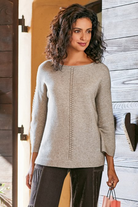 Women Dottie Sweater